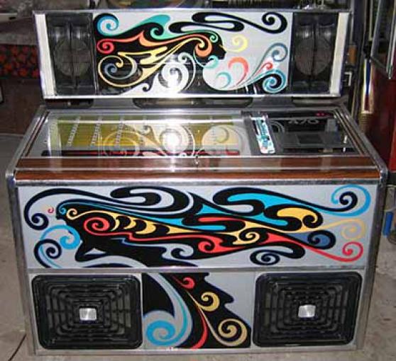 Annonce occasion, vente ou achat 'Jukebox Rock Ola 470 1977 juke'