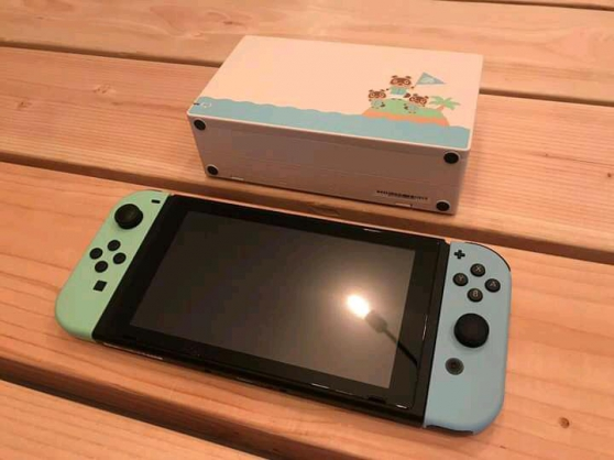 Je vends la console Nintendo Switch