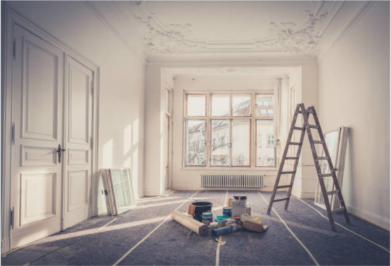 Rénovation complète d'intérieur