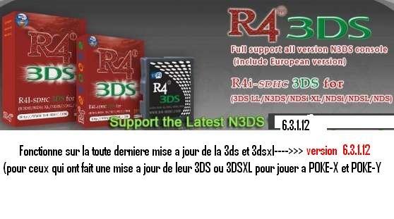 Annonce occasion, vente ou achat 'R4 I pour DSI,3DS,3DSXL'