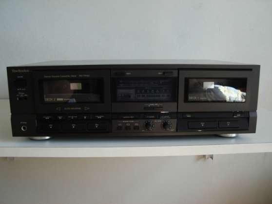 lecteur enregistreur cassette technics aigues vives. Black Bedroom Furniture Sets. Home Design Ideas