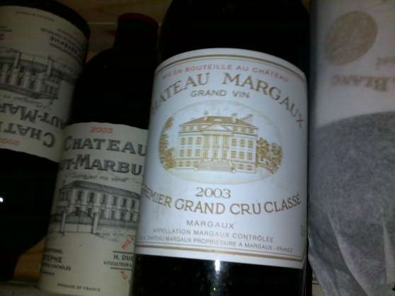 VDS GRANDS CRUS MILLESIME 2003 BORDEAUX