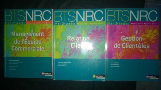 Annonce occasion, vente ou achat 'vends 3 livres BTS NRC'