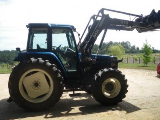 Tracteur new holland MX U10 7740