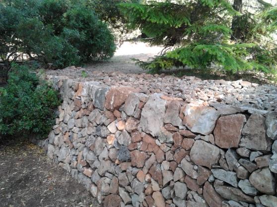 Murs en pierres sèches, restanques
