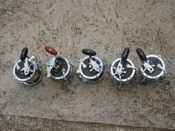 Annonce occasion, vente ou achat 'A VENDRE moulinets pêche au gros'