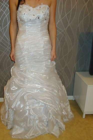 robe sirene blanche