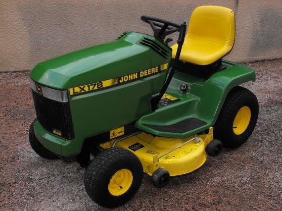 Tracteur tondeuse john deere lx178 jardin nature - Tracteur tondeuse john deere occasion ...