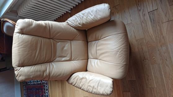 fauteuil relax stressless cuir - Annonce gratuite marche.fr
