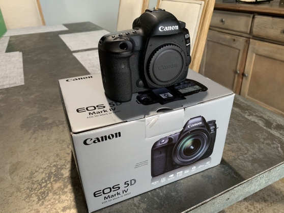Boitier neuf Reflex Canon 5D Mark IV