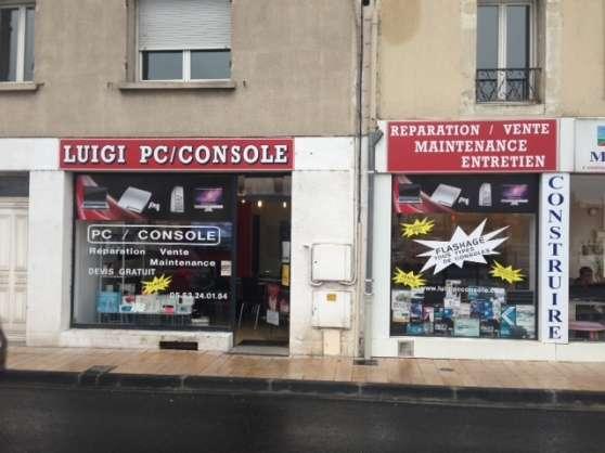 réparation ,flash de console,pc , iphone - Annonce gratuite marche.fr