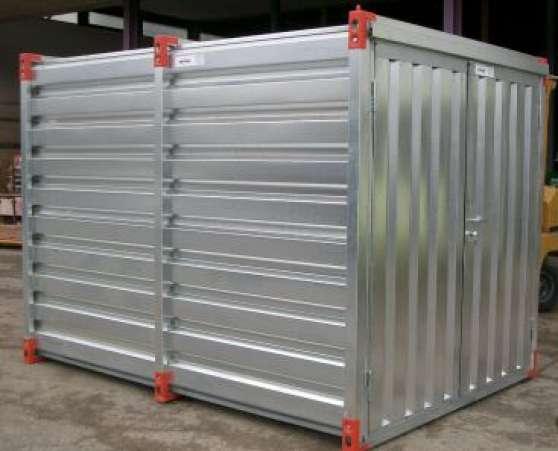Conteneur demontable professionnels outillage le mans for Prix case container
