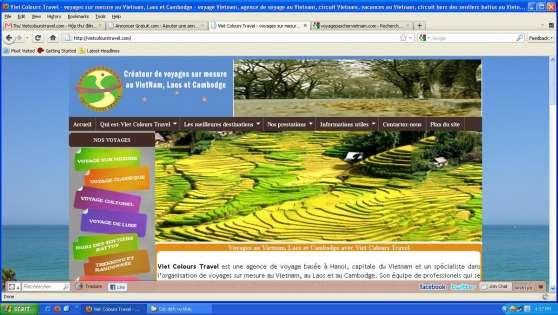 Annonce occasion, vente ou achat 'Voyage Vietnam: Viet Colours Travel'
