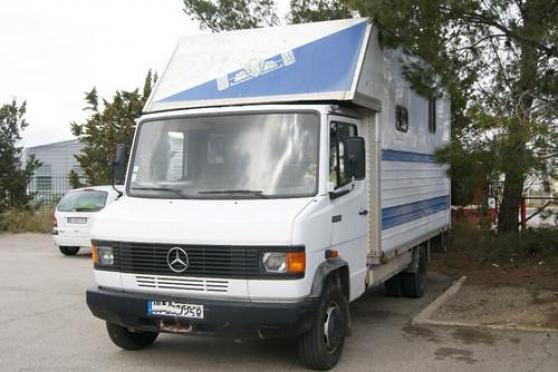 camion mercedes 609 vl am nag camping c paris auto camions paris reference aut cam cam. Black Bedroom Furniture Sets. Home Design Ideas