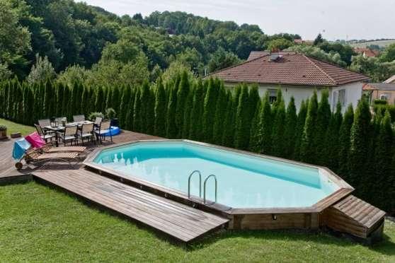 piscine bois malonga
