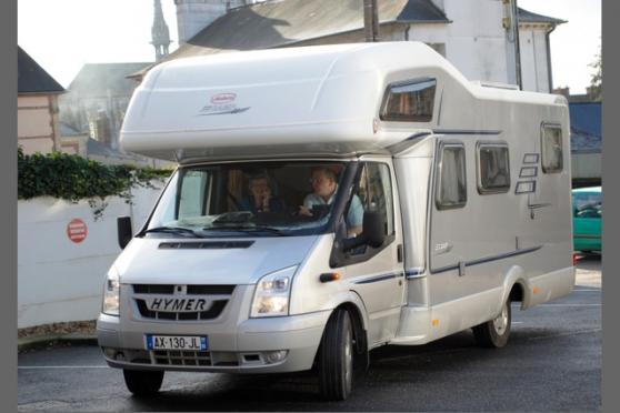 camping car hymer à louer
