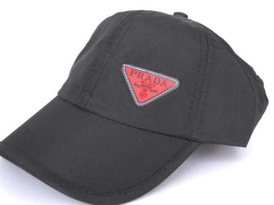 casquette prada noire homme neuve