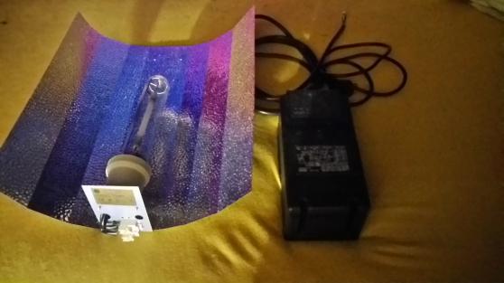 Kit lampe à sodium 600w