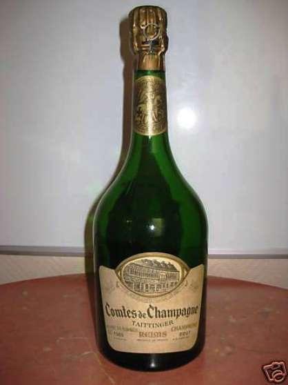 Champagne TAITTINGER comte de champagne