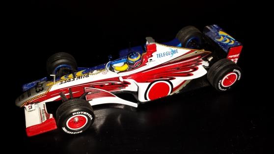F1 1/43 Minichamps - Onyx - Hotwheels, e