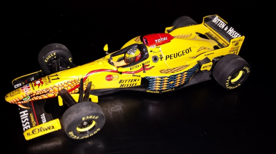 F1 1/43 Minichamps - Onyx - Hotwheels, e - Photo 2