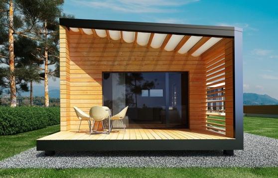 Chalets en bois studios design e k 35m2 immobilier a for Appartement 35m2 design