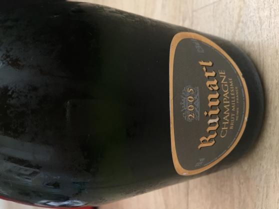 Champagne Ruinart Brut millésimé en 2005