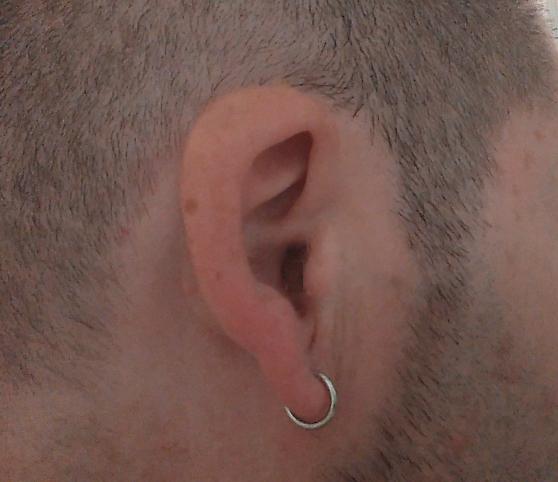 boucles oreilles percées créole argent - Annonce gratuite marche.fr