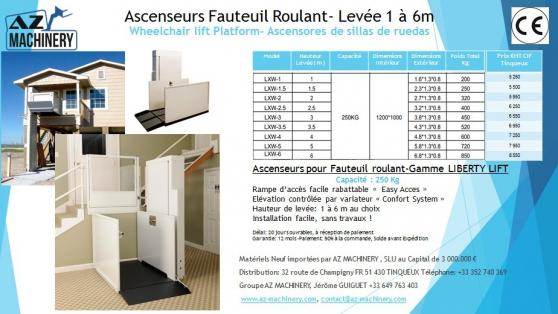 Ascenseurs pour Fauteuil roulant-PMR - Photo 4