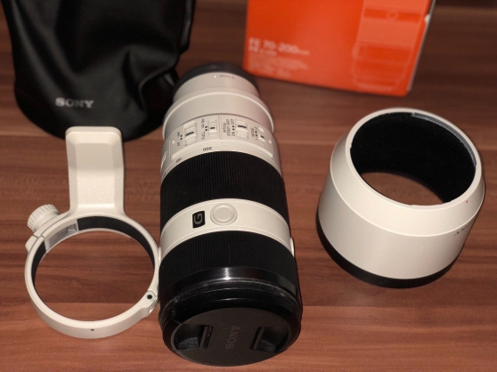 Sony Alpha SEL70200G 70-200 mm f/4.0 OSS