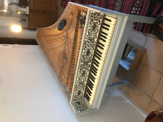 Annonce occasion, vente ou achat 'Clavecin Flam Zuckerman 5 octaves'