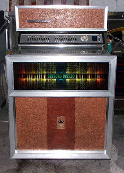 Jukebox Seeburg SE100 Golden Jet 1970