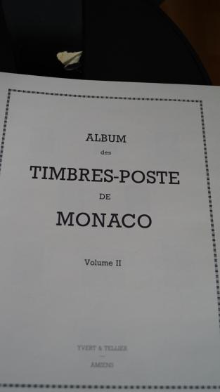 Collection de timbres de Monaco