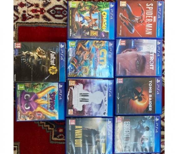 PS4 Pro + 10 Jeux + 2 Manettes + Caméra - Photo 2