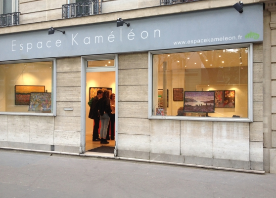 Galerie d'art à louer à Paris