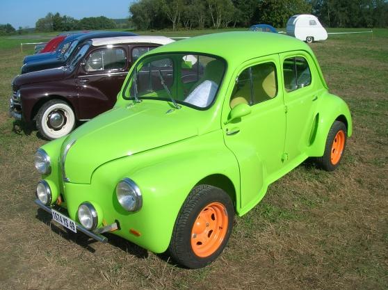 renault 4cv proto auto renault  u00e0 chavagnes