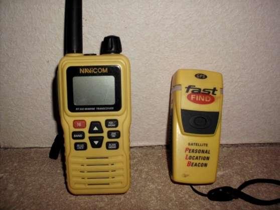 VHF et Balise détresse