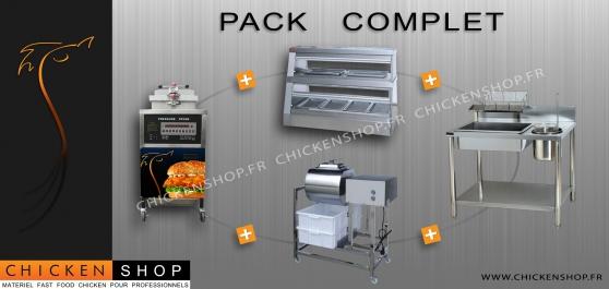 Pack Complet Démarrage Fast Food Chicken