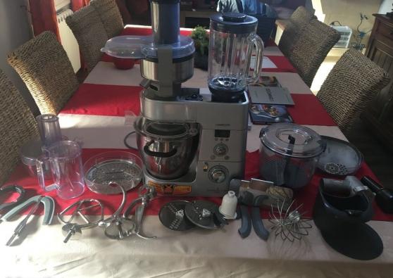robot cooking chef + accessoires + livre - Annonce gratuite marche.fr