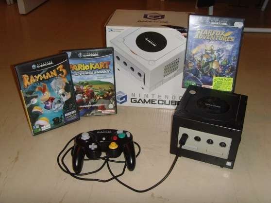 GAME CUBE + 3 JEUX
