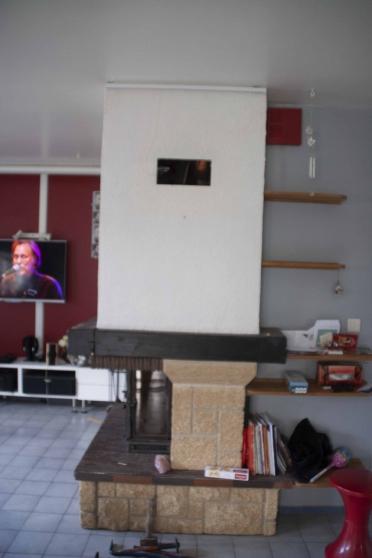 vends cheminée +insert+ventilation - Annonce gratuite marche.fr