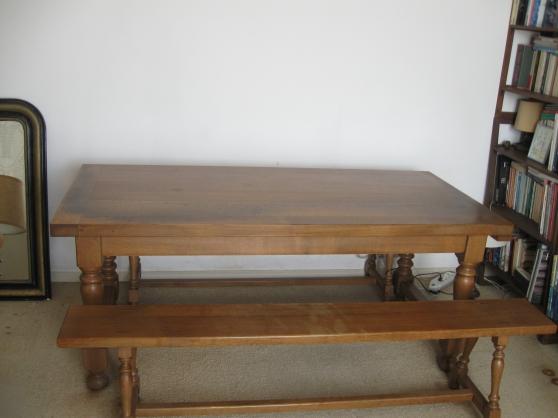Table de Ferme BON ETAT 180 cm -
