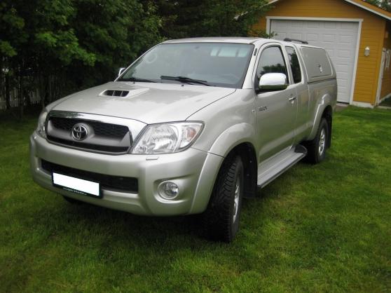 Annonce occasion, vente ou achat 'Toyota HiLux D-4D 143hk X-Cab 4wd SR5'