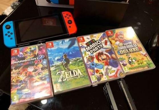 Annonce occasion, vente ou achat 'Nintendo Switch très bon état'
