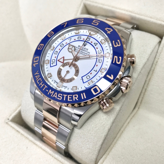 Annonce occasion, vente ou achat 'Rolex Yacht-Master II Gold/Steel 2017'