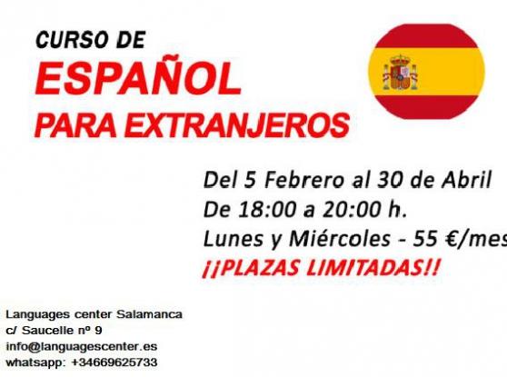 Cours d'Espagnol étrangers online - zoom