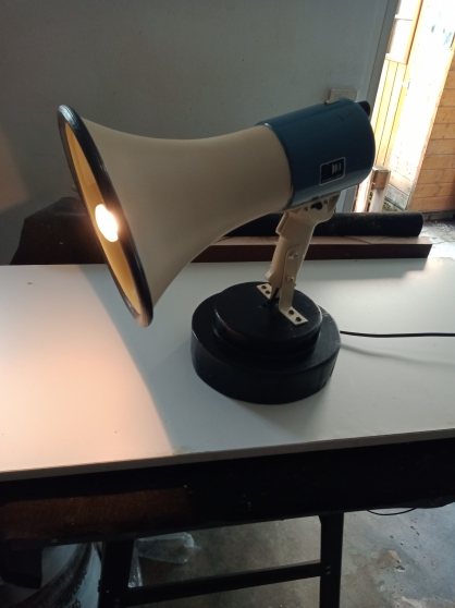 Annonce occasion, vente ou achat 'Lampe projecteur artisanale'
