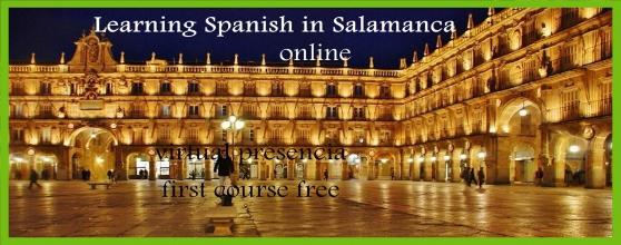 l'espagnol en ligne Salamanca España