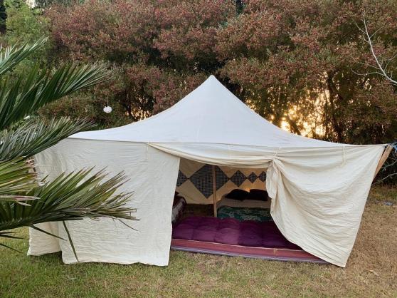 Tente khaima mauritanienne 3x3 m (9m²)