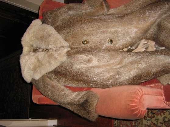 Manteau renard parfait état